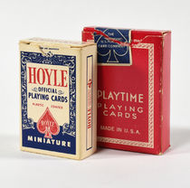 Vintage Miniature Cards