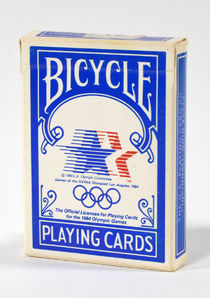 Bicycle 1984 Olympics Playing Cards