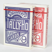 Pair of Tally-Ho No. 9 Playing Cards (Blue Seal)