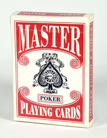 Master Poker Playing Cards