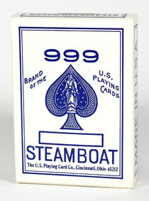 Steamboat 999 Playing Cards Sealed Deck