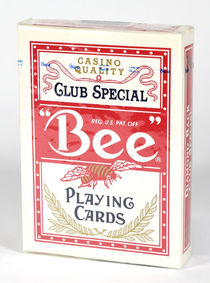 """Bee"" Casino Quality Playing Cards"
