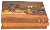 Japanese Puzzle Box, Mt. Fuji