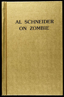 Al Schneider on Zombie (Signed)