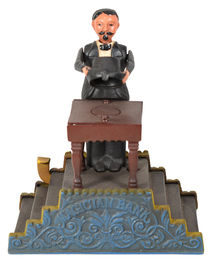 The Book of Knowledge Magician Mechanical Bank