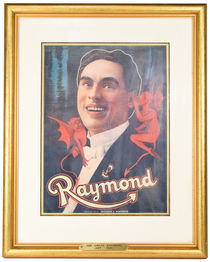 The Great Raymond Framed Lithograph