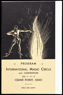 Program for the International Magic Circle Convention