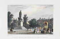 Russell Square, and Statue of the Duke of Bedford (Punch and Judy)