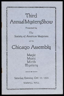 Third Annual Mystery Show, S.A.M.