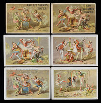 Performing Clowns Trade Cards