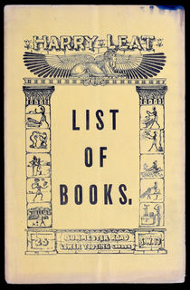 Harry Leat, List of Books