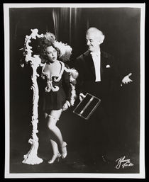 Harry Blackstone and Mary Harris Performance Photograph