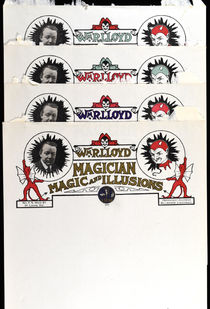 Wm. R. Lloyd, Magician Set of Letterheads
