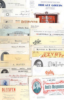 Collection of Magicians' Letterheads