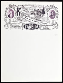 The Zancigs Letterhead