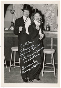 Doc and Ann Mahendra Signed Photograph