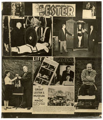 The Great Lester, Collaged Advertisement