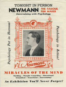Newmann, The Famous Fun Maker Entertaining with Psychology