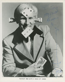 Bob Little Signed and Inscribed Publicity Photo