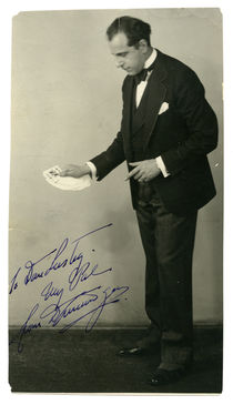 Dunninger Signed Photograph