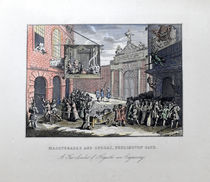 Masquerades and Operas, Burlington Gate Engraving