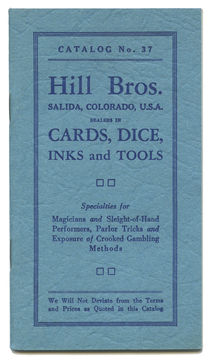 Hill Bros. Cards, Dice, Inks and Tools