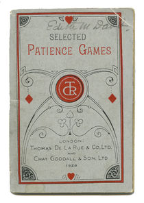 Selected Patience Games