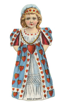 Queen of Hearts Trade Card