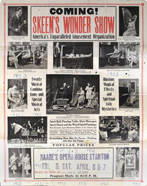 Coming! Skeen's Wonder Show