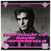David Copperfield Souvenir Program, Signed