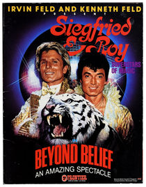 Siegfried and Roy Souvenir Program