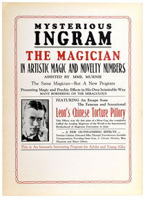 Mysterious Ingram, The Magician