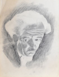 Harry Blackstone Portrait Drawing