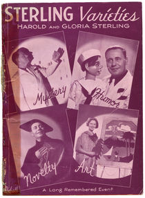 Sterling Varieties: Harold and Gloria Sterling Adverts