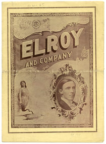 Elroy and Company Advert