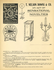 T. Nelson Downs Advertising Letterhead