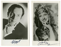 Virgil and Julie Signed Portraits