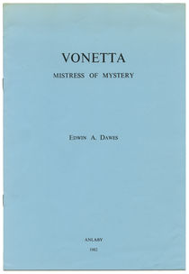 Vonetta, Mistress of Mystery
