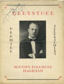 Greystroke Advert, Signed