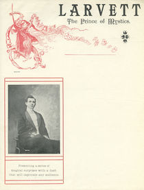 Larvett, The Prince of Mystics Letterhead
