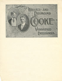 Wallace and Raymond Cooke Letterhead