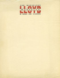 Lloyd the Marvelous Magician Letterhead