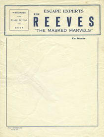 Escape Experts: The Reeves Letterhead