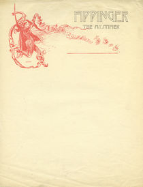 Fippinger the Mystifier Letterhead