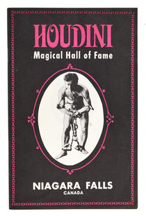 The Houdini Magical Hall of Fame Booklet