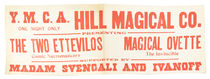 Hill Magical Co. Flyer