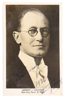 Herbert J. Collings Photograph, Inscribed and Signed