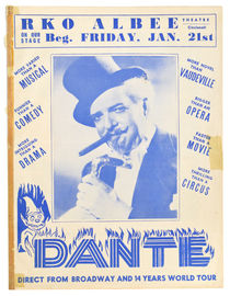 Dante at RKO Albee Theatre