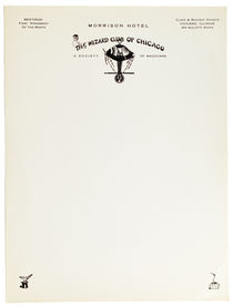 The Wizard Club of Chicago Letterhead