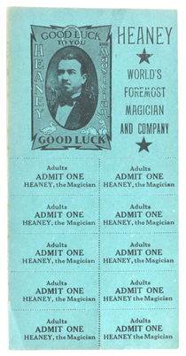 Heaney The Magician Tickets